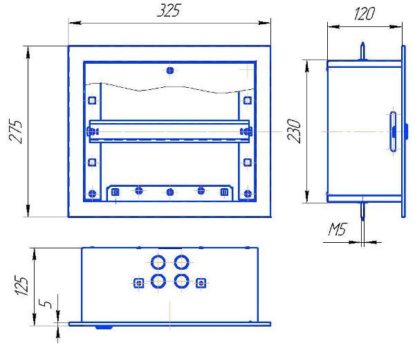 схема шкафа Мв-14